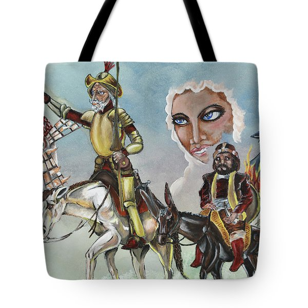 Tote Bag featuring the painting Unreachable Star by JA George AKA The GYPSY