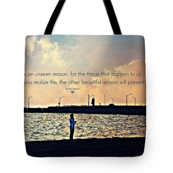 Unseen Reason Tote Bag