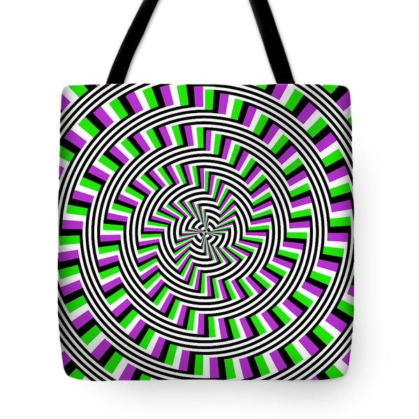 Self-moving Unspiral Tote Bag