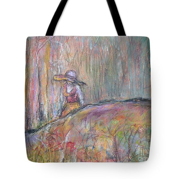 Unspoken Tote Bag by Gail Butters Cohen