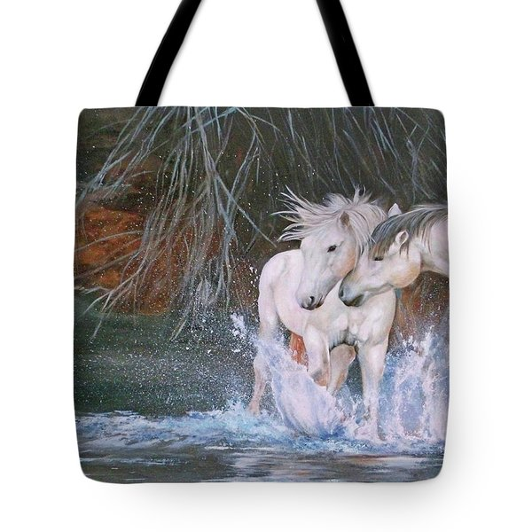 Unspoken Persuasion Tote Bag by Karen Kennedy Chatham
