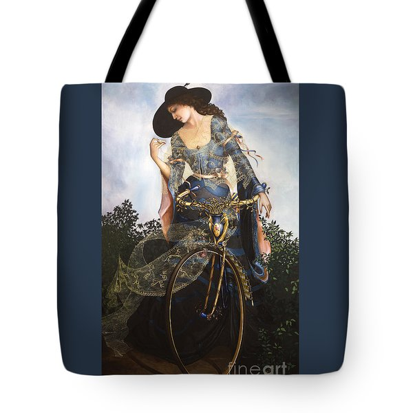 Unstuck In Time Tote Bag by Jane Whiting Chrzanoska