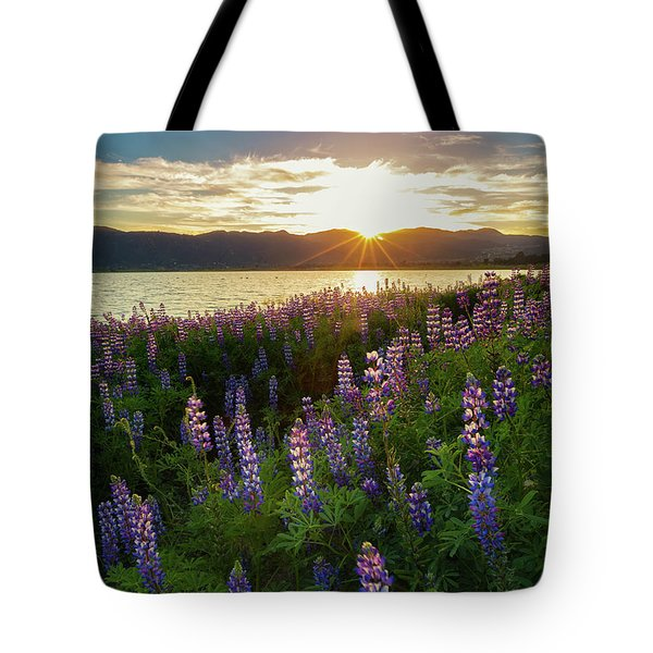 Untamed Beauty Tote Bag by Tassanee Angiolillo