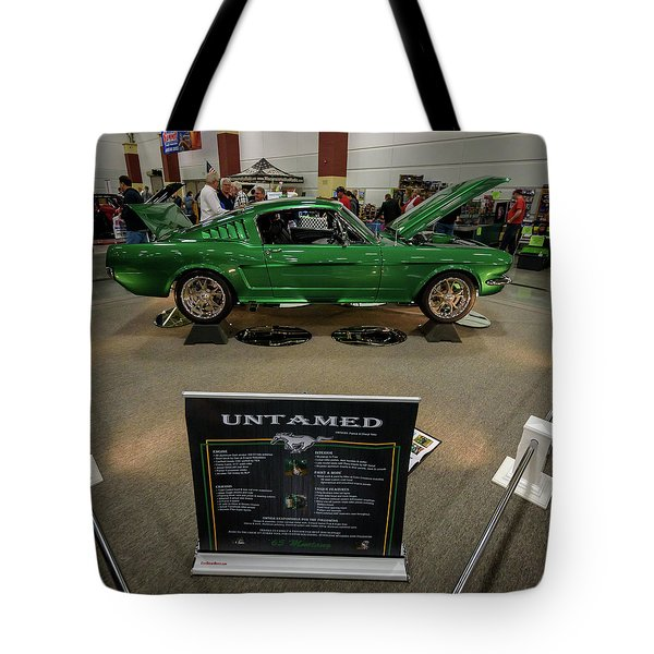 Tote Bag featuring the photograph Untamed by Randy Scherkenbach