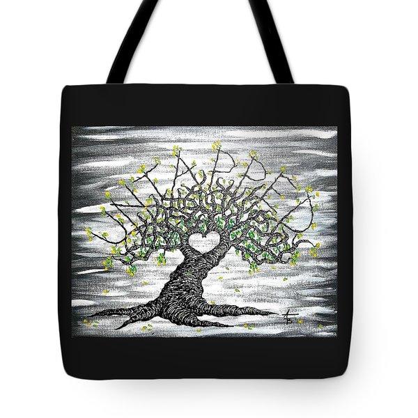 Untapped Love Tree Tote Bag