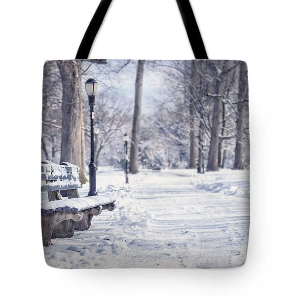 Until It Melts Away Tote Bag