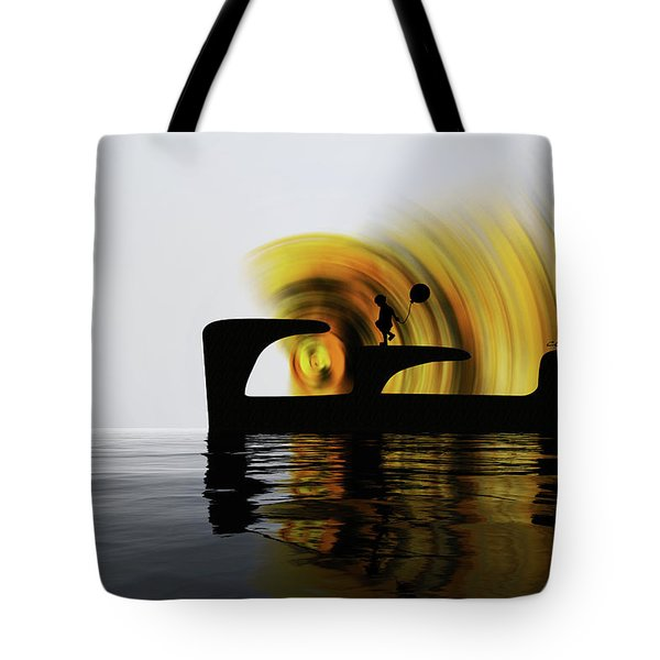 Until The Day God Will Deign To Reveal The Future To Man Tote Bag by Sir Josef - Social Critic -  Maha Art