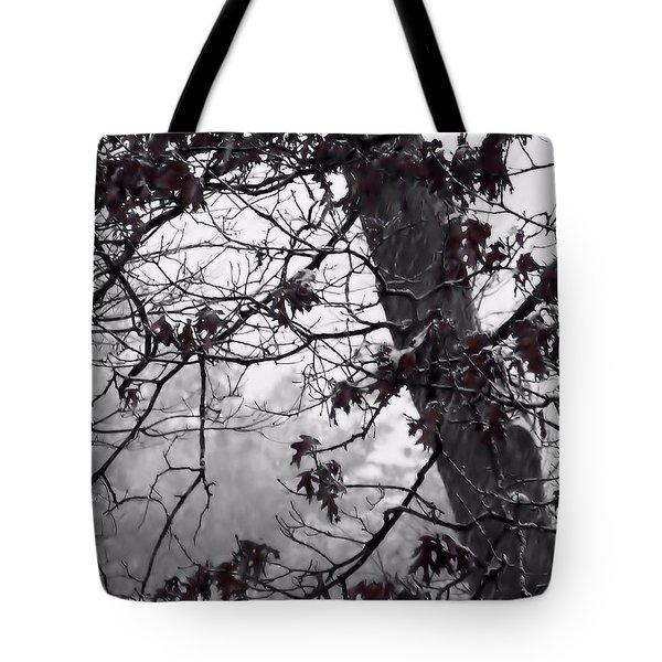 Until The Last Leaf Falls Tote Bag