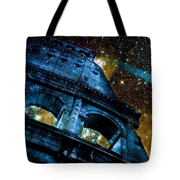 Until The Last Star Falls Tote Bag by Aurelio Zucco