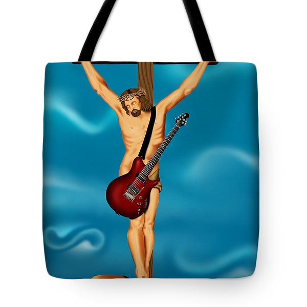 Until There Was Rock You Only Had God Tote Bag