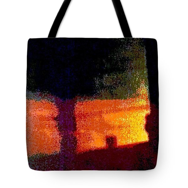 Untitled 1 - By The Window Tote Bag by VIVA Anderson