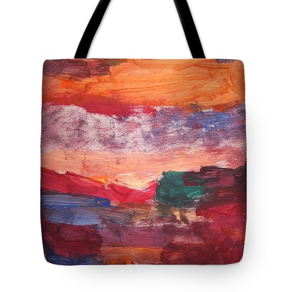 untitled 109 Original Painting Tote Bag