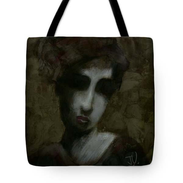 Tote Bag featuring the digital art Untitled 10nov2017 by Jim Vance