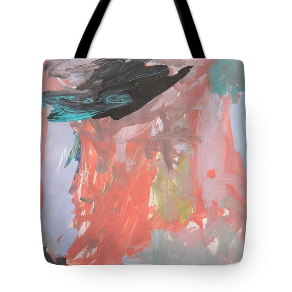 Untitled #11  Original Painting Tote Bag