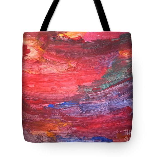 untitled 110 Original Painting Tote Bag