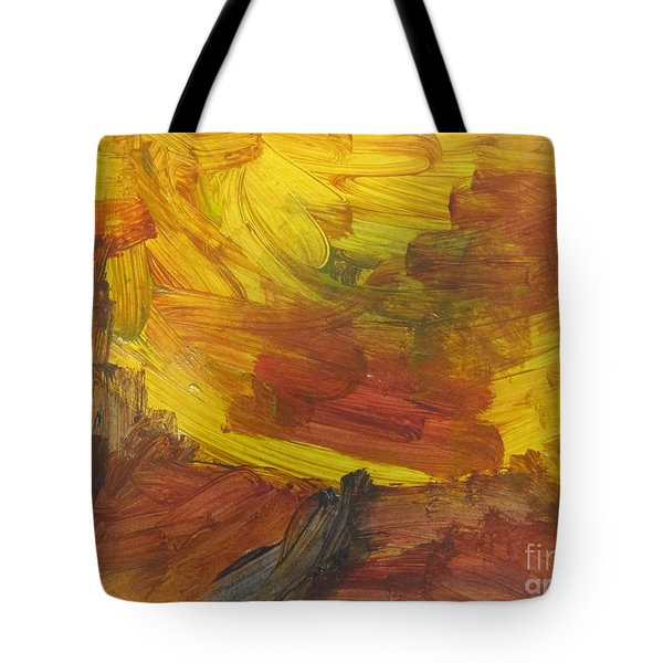 Untitled 117 Original Painting Tote Bag