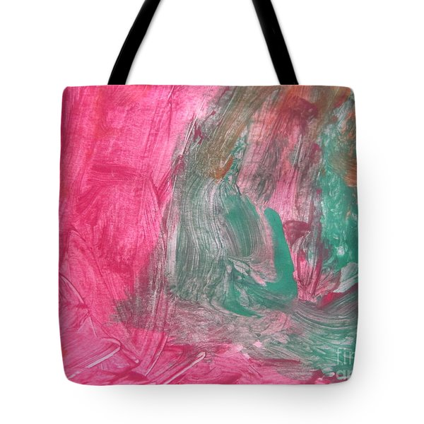 Untitled 123 Original Painting Tote Bag