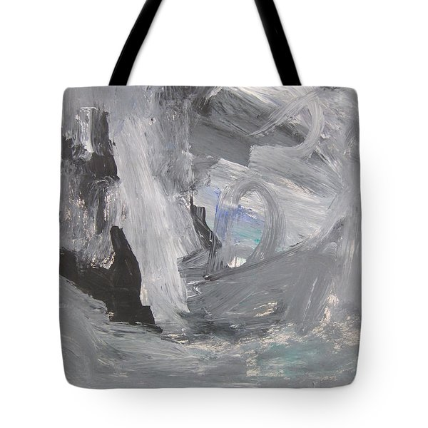 Untitled 124 Original Painting Tote Bag