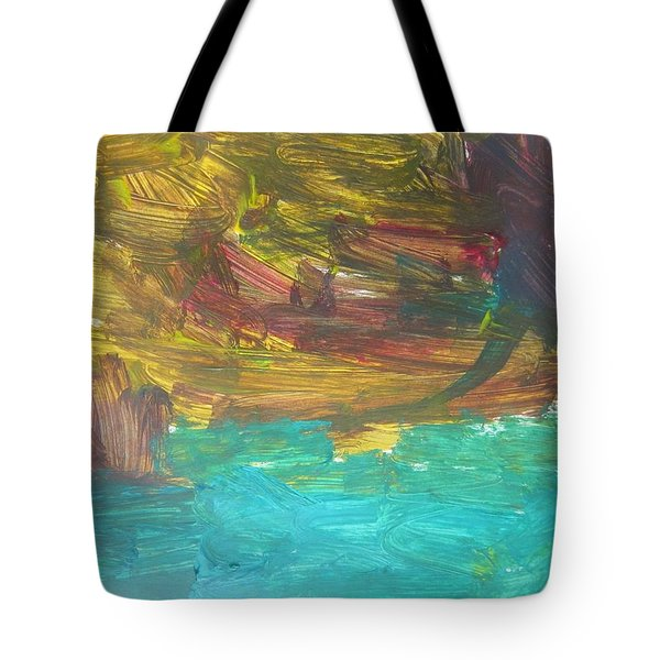 Untitled 126 Original Painting Tote Bag