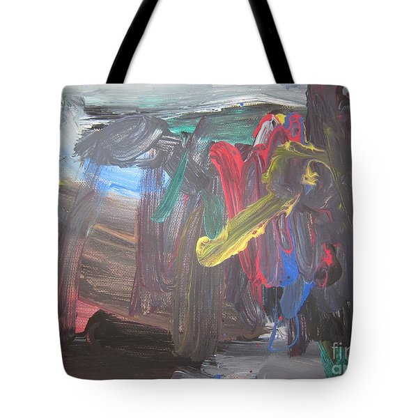 Untitled 128 Original Painting Tote Bag