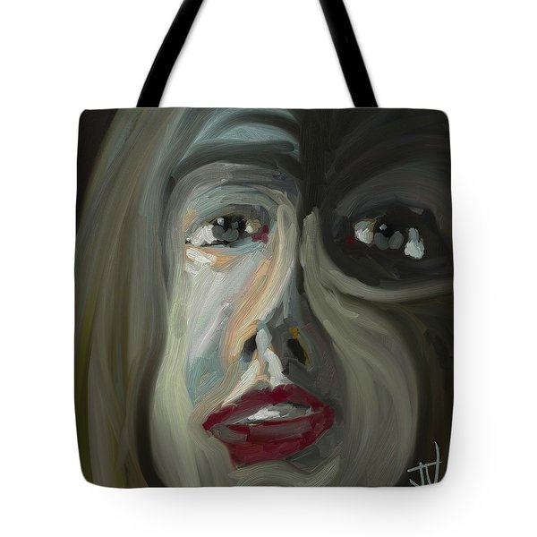 Tote Bag featuring the digital art Untitled- 12nov2017 by Jim Vance