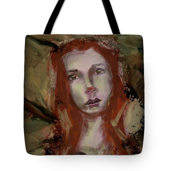 Tote Bag featuring the digital art Untitled - 24nov2017 by Jim Vance
