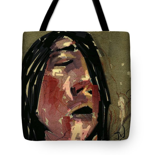 Tote Bag featuring the digital art Untitled - 24oct2017 by Jim Vance