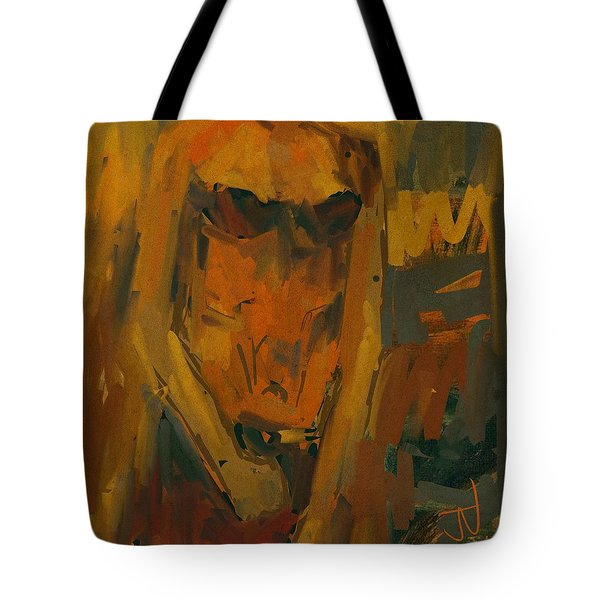 Tote Bag featuring the digital art Untitled - 27oct2017 by Jim Vance