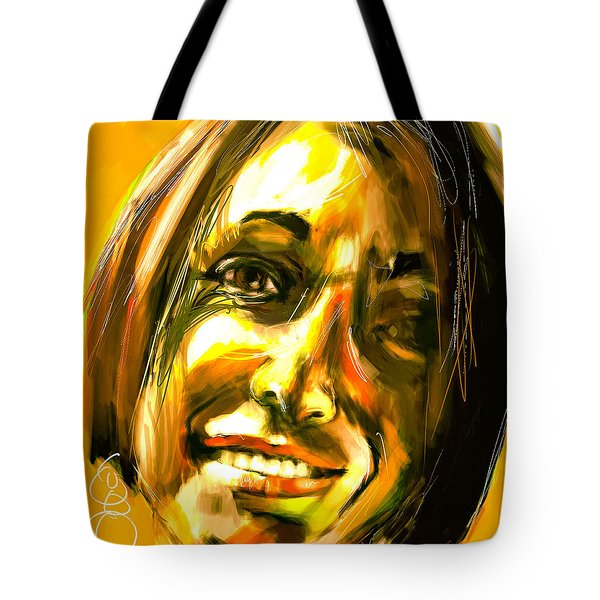 Tote Bag featuring the digital art Untitled - 31oct2017 by Jim Vance