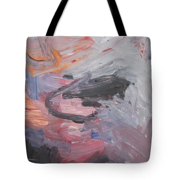 Untitled #35  Original Painting Tote Bag
