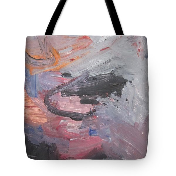 Untitled #35  Original Painting Tote Bag