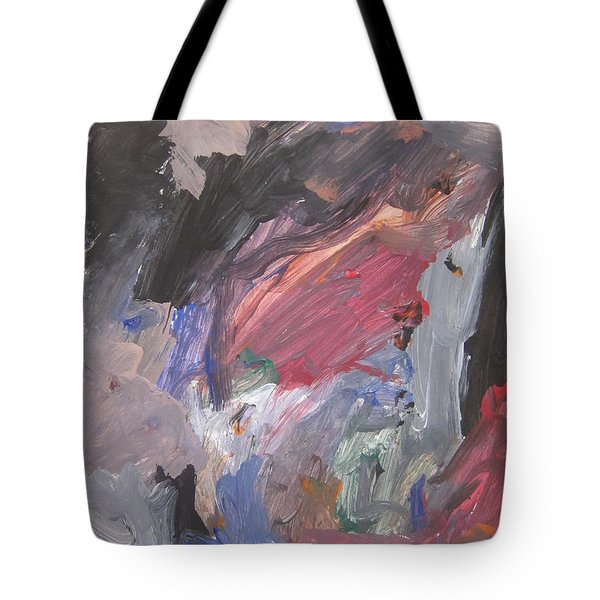 Untitled #6  Original Painting Tote Bag