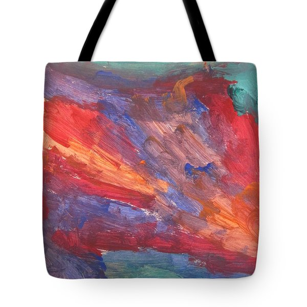 Untitled 95 Original Painting Tote Bag