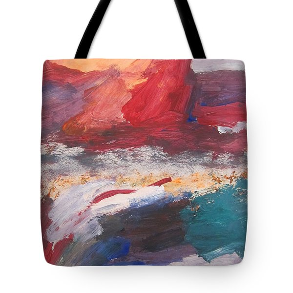 Untitled 98 Original Painting Tote Bag