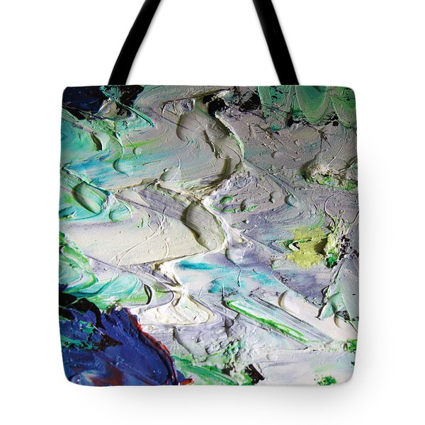 Untitled Abstract With Droplet ## Tote Bag