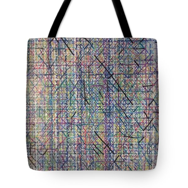 Untitled Abstraction 2 Tote Bag