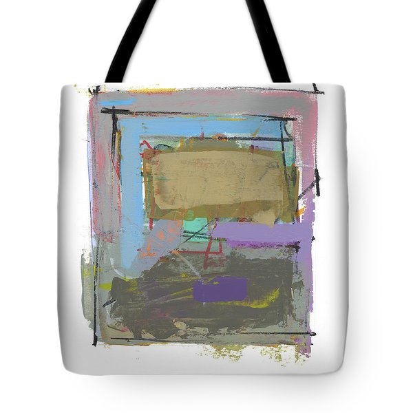 Tote Bag featuring the painting Untitled  by Chris N Rohrbach