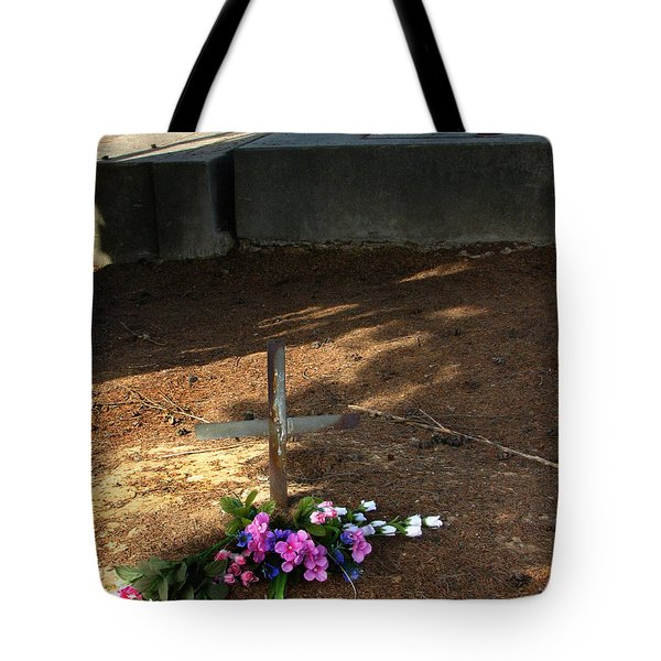 Untitled Grave Tote Bag by Peter Piatt