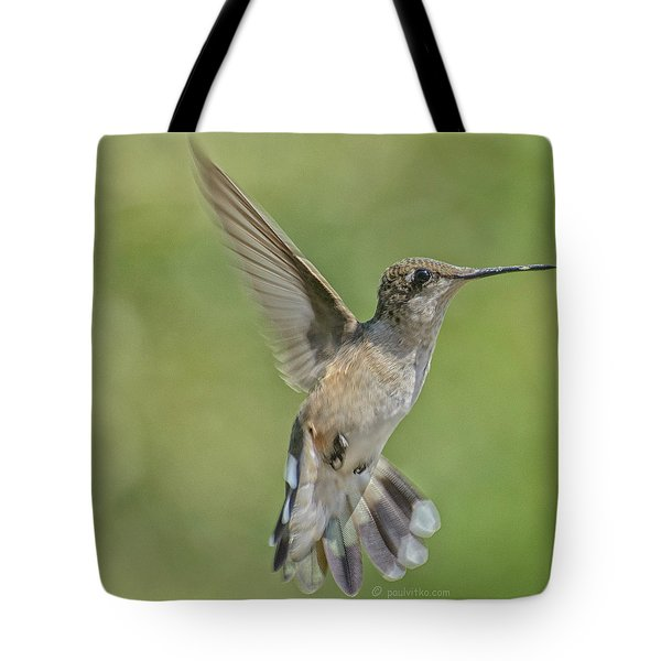 Untitled Hum_bird_four Tote Bag
