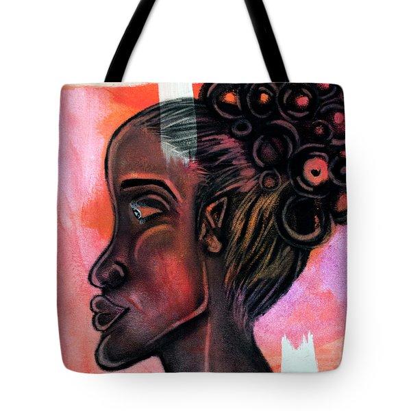 Untitled Lady II Tote Bag