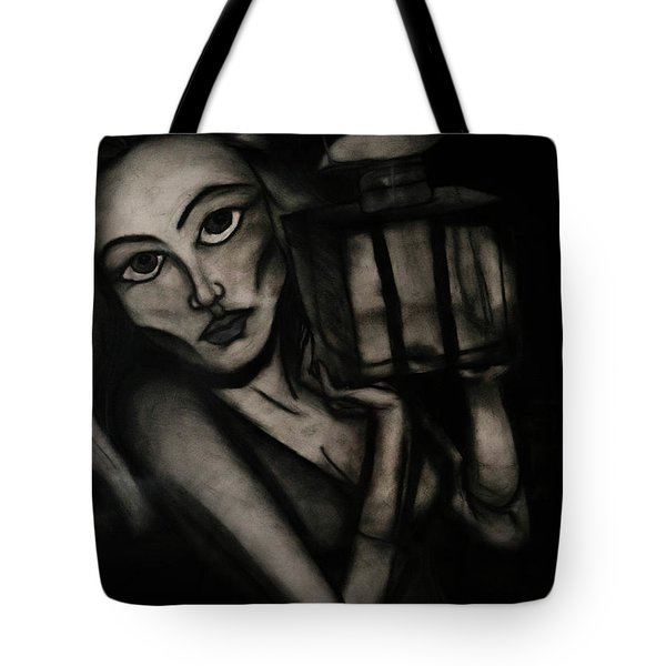 Untitled Lady IIi Tote Bag