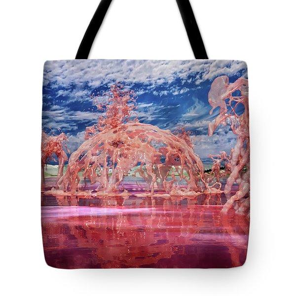 Untitled Liquid 12 Tote Bag