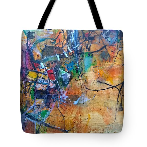 Untitled Or Ink Flow Tote Bag