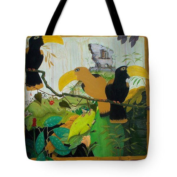 Jungle Boogie 2 Tote Bag by Patrick Trotter