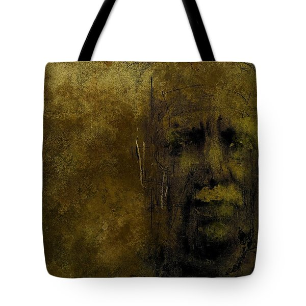 Untitled Portrait 06june2015 Tote Bag by Jim Vance