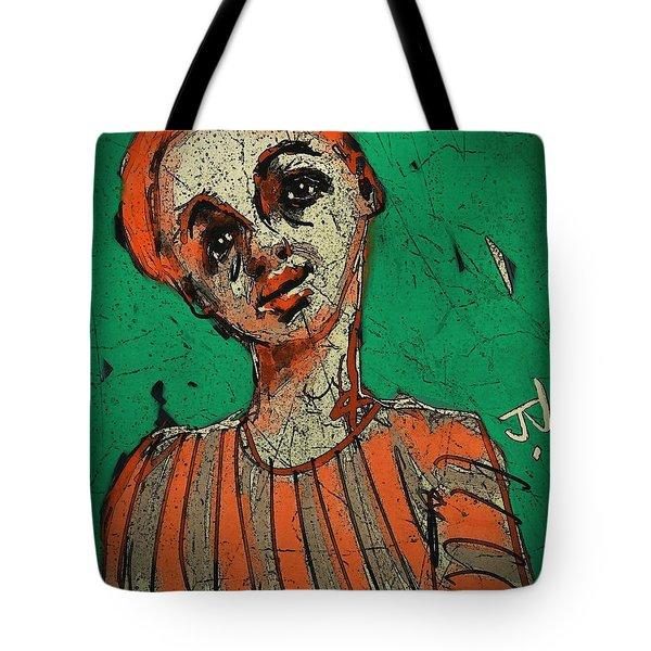 Untitled Portrait 17dec2015 Tote Bag by Jim Vance