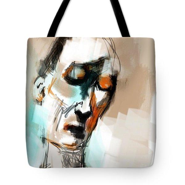 Untitled Portrait Tote Bag