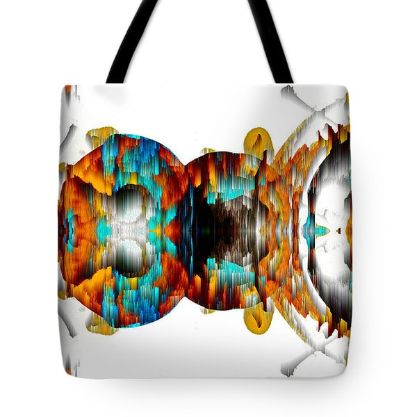 Tote Bag featuring the digital art Untitled Series 992.042212 -b by Kris Haas