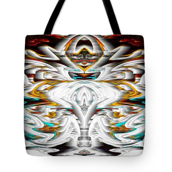 Tote Bag featuring the digital art Untitled Series 992.042212 by Kris Haas