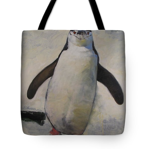Untitled Unfinished Chinstrap Tote Bag